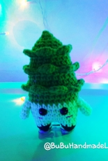 Amigurumi Pine Tree mini for Christmas
