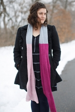 The Firefly Hook - English Rose Garden Scarf