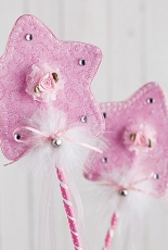 Sweet Chic - Fairy Princess Wall Hanging, Pillow &  Wand