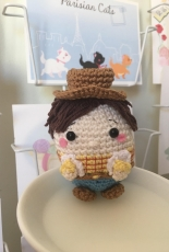 Ufufy Woody from Toy story disney pixar