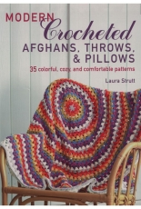 Laura Strutt - Modern Crocheted Afghans, Throws, and Pillows - 2018