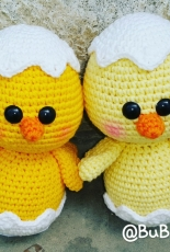 Amigurumi Baby Chicks