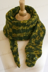 Bees Knees Knitting - Snake Scarf