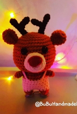 Amigurumi Reindeer mini for Christmas