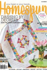 Australian Homespun #186 november 2018