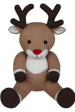 Knitables-Rudolph the Reindeer (Knit A Teddy) by Sarah Gasson