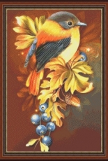 Dina Cross Stitch - Bird 5