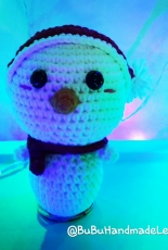 Amigurumi Snowman mini for Christmas